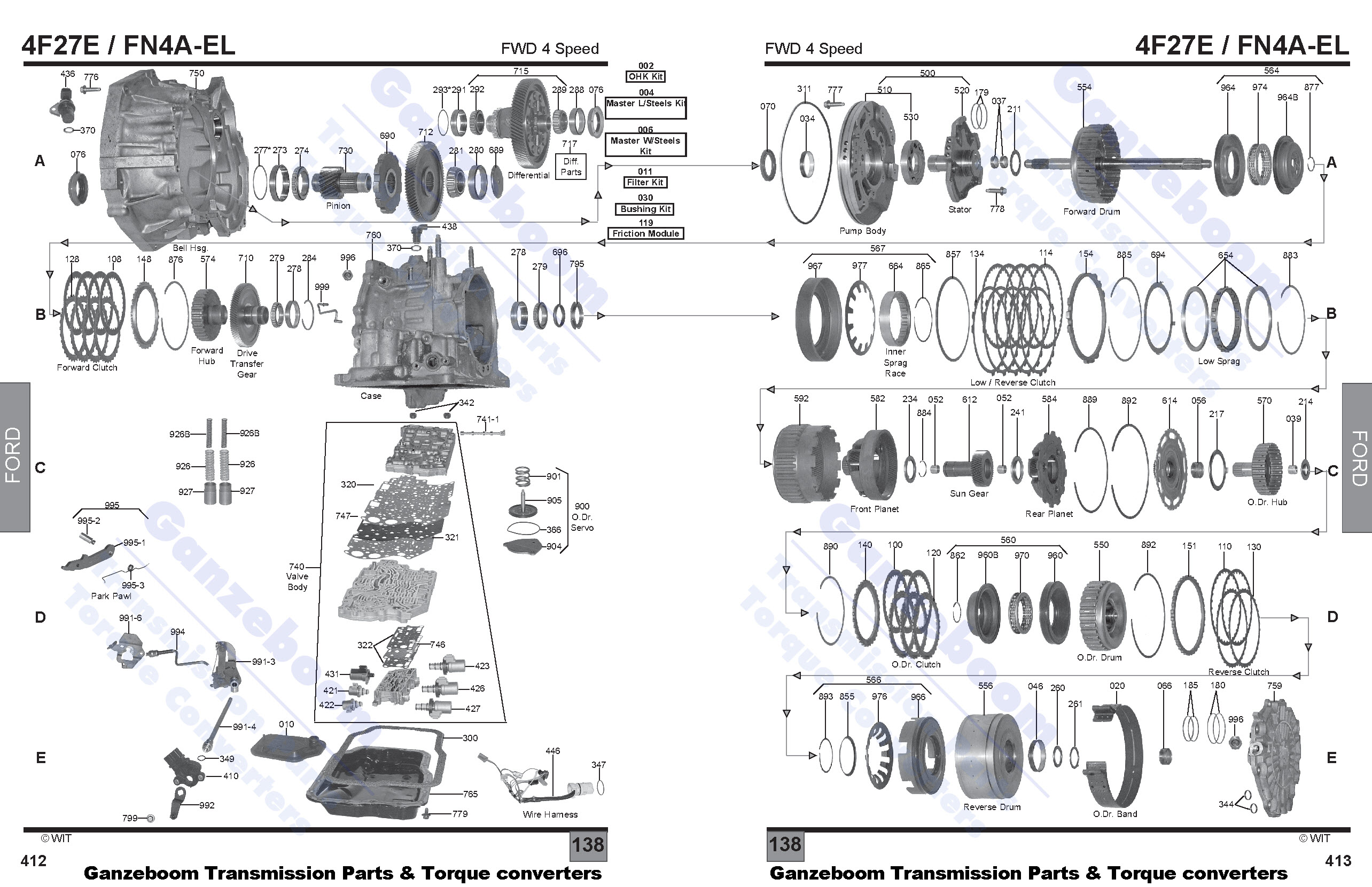 cd4e diagram trusted schematics wiring diagrams u2022 rh bestbooksrichtreasures com Ford CD4E Transmission Manual CD4E Transmission
