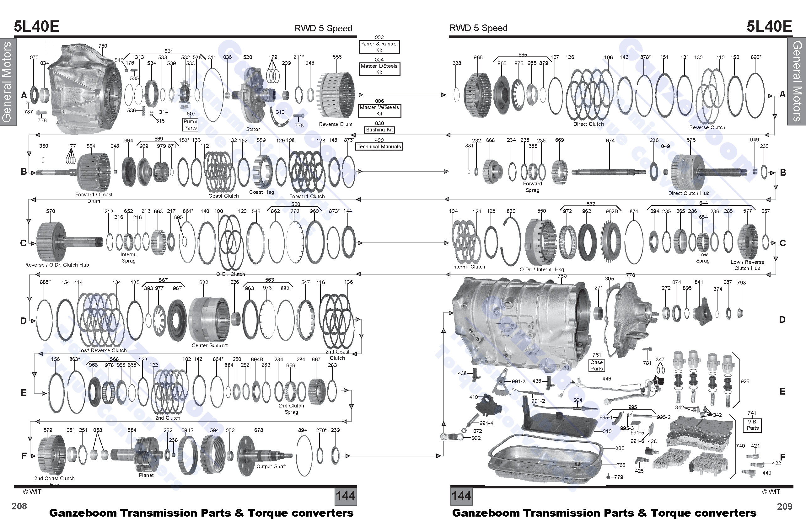 gm 4l30e diagram  gm  auto parts catalog and diagram
