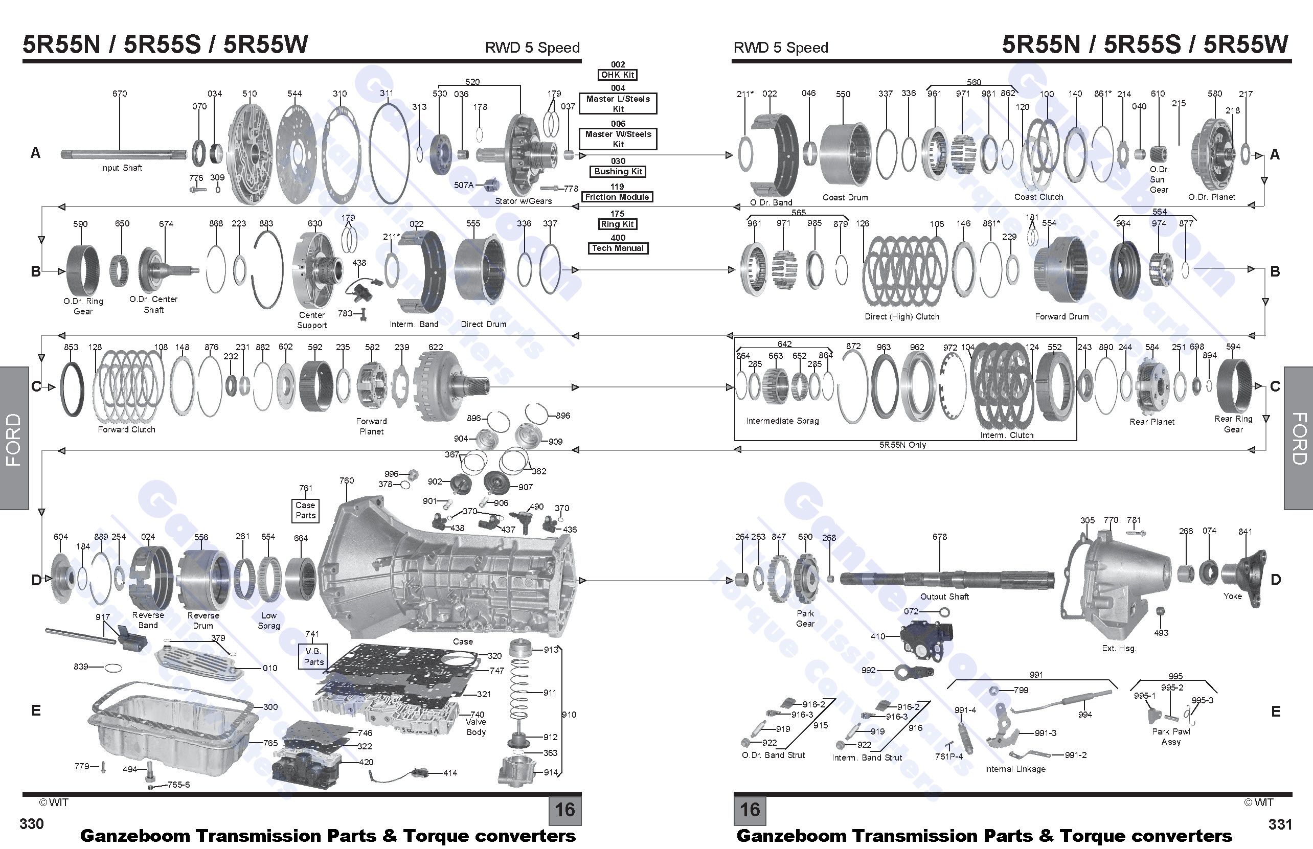 5r55w Diagram Basic Wiring Schematic 5r55e Ford Ganzeboom Transmission 5r55n 5r55s