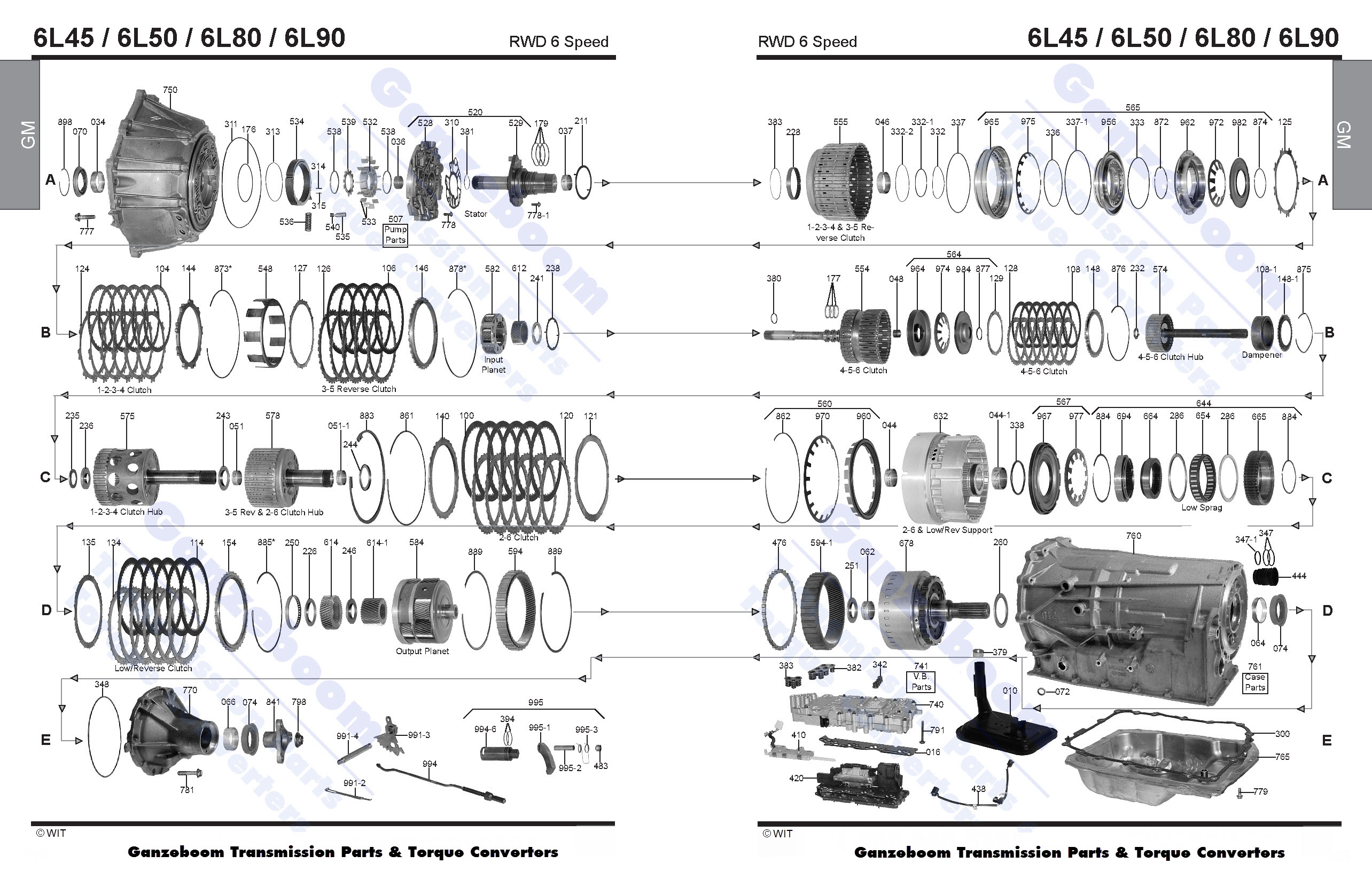 5l40e transmission diagram