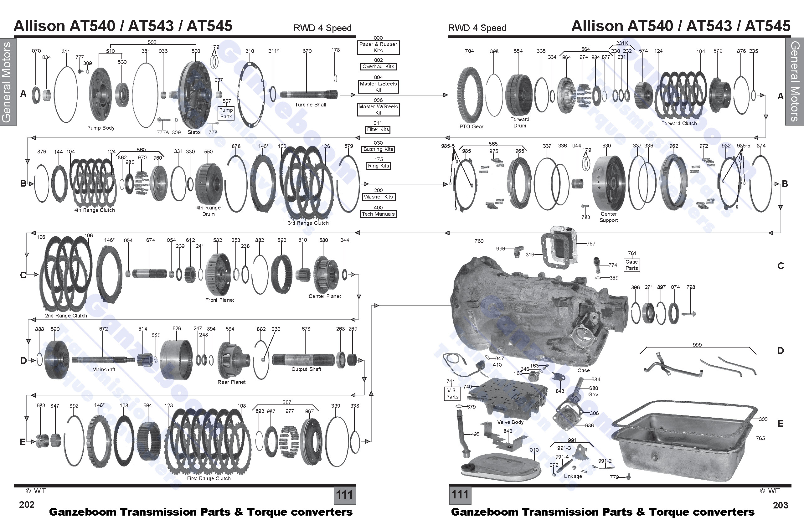 allison 4000 parts diagram