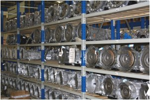 Gearboxes in stock